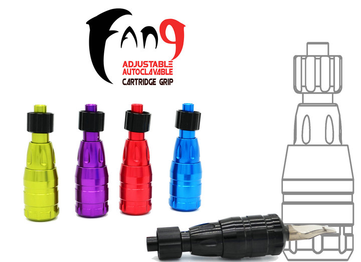 FANG™ Adjustable Aluminum Cartridge Grip AUTOCLAVABLE