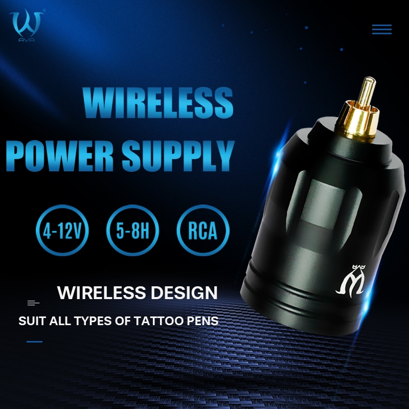 AVA Wireless Tattoo Power Supply