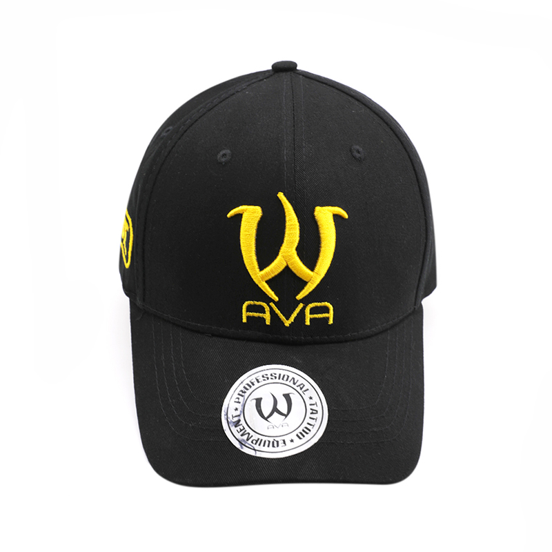 AVA Tattoo Curved hat golden