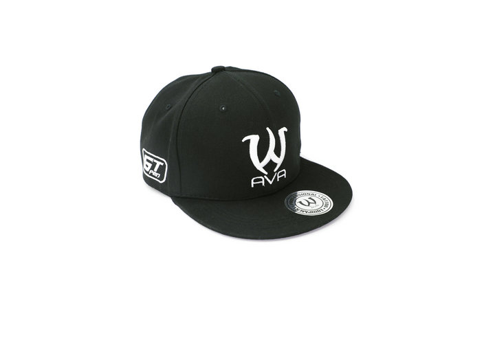 AVA Tattoo Snapback Hat Black
